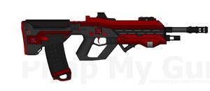 D.I.I. PR-102B 'Hacksaw' Pulse Rifle by Lord-DracoDraconis