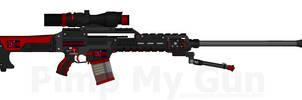 D.I.I. DSA-SR55 'Arrow' Designated Spotters Rifle by Lord-DracoDraconis