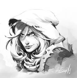HunterGirl by Nicolasaviori