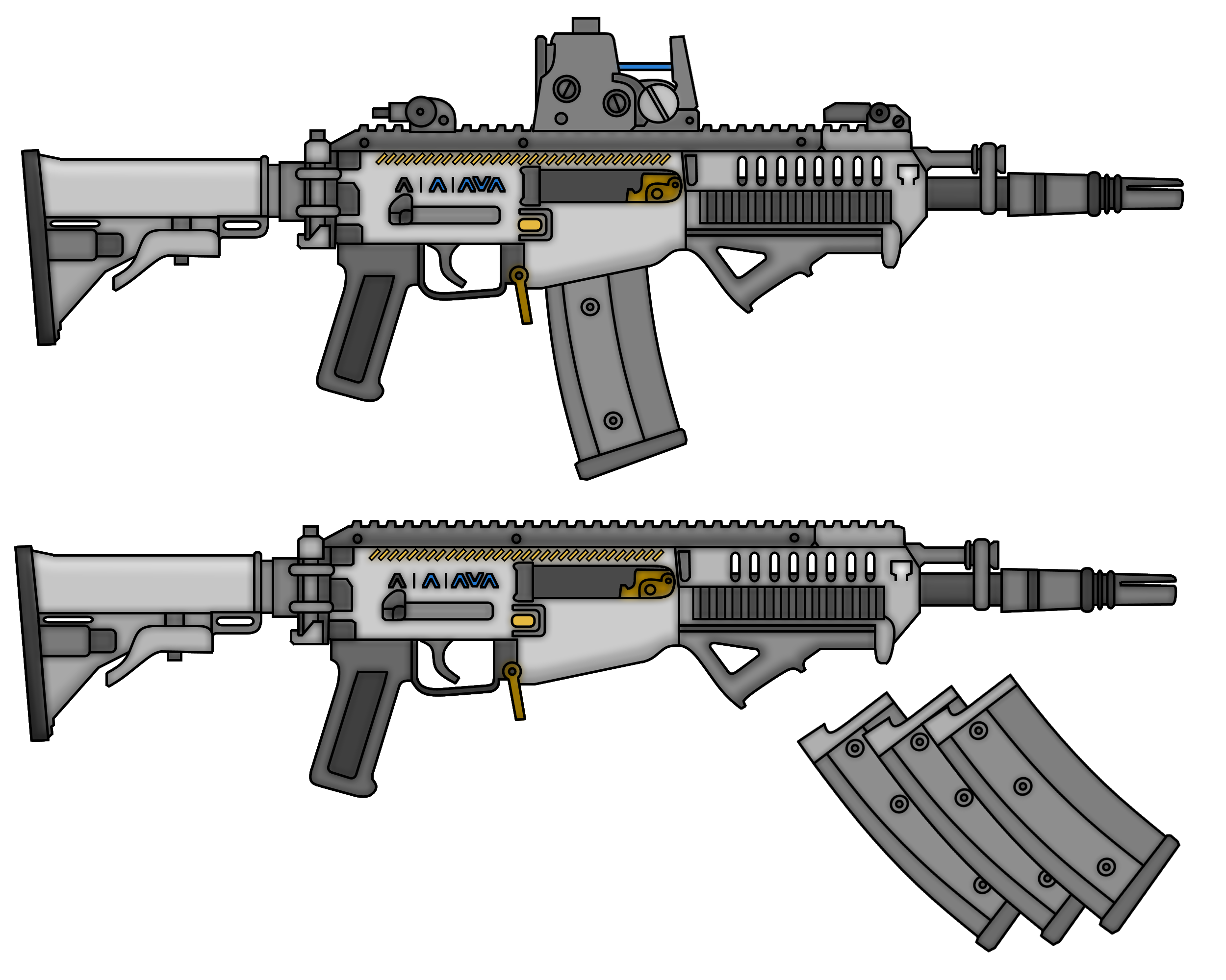 ugtf l603 combat rifle by thefrozenwaffle on deviantart