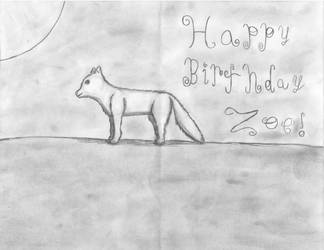 A Friend's Birthday Card From Me. by NightWolfCP