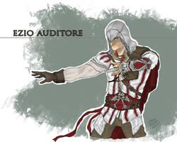 E for Ezio Auditore by SuperJV