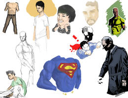Sketch Dump 1 by SuperJV