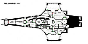 CSV Normandy SR-3 main deck plan by imperator-prime