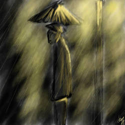 golden rain by dattdonut
