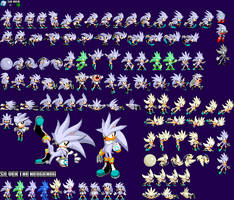 The S Factor - Sonic and Silver - Silver by mike1967-now