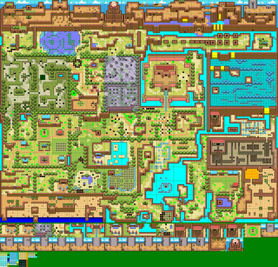 Koholint Island - OOS/OOA Style by mike1967-now