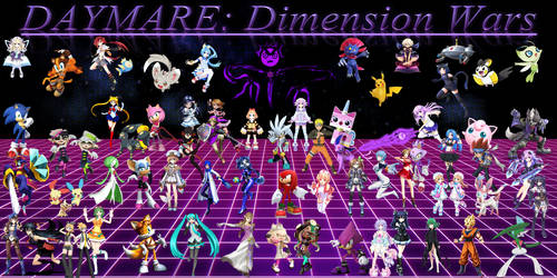 DAYMARE Dimension Wars V2 by LiamBobykl