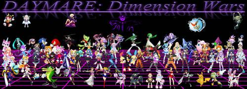 DAYMARE Dimension Wars Wallpaper V2 by LiamBobykl