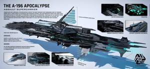 A 196 Apocalypse Assault Supercarrier  Ultra Hd  B by LiamBobykl