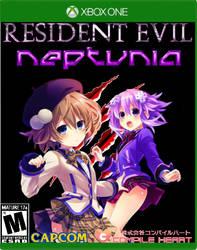 Xbox One Resident Evil Neptunia by LiamBobykl