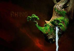 Rhino by miqueias