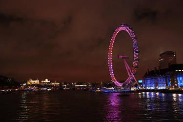 London Eye at night by smeghead1976