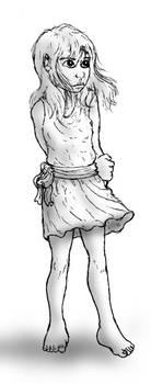 Girl in Tunic by Benjamin-the-Fox