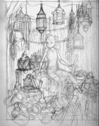 Worldly Goods: Concept Sketch by Benjamin-the-Fox