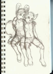 Leland and Ishmael by Benjamin-the-Fox