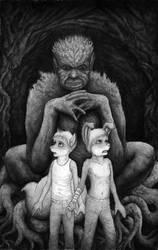 The Looming Hag by Benjamin-the-Fox