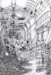The Great Treasure Linework by Benjamin-the-Fox