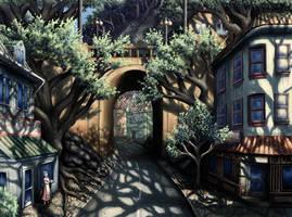 Mountain Street by Benjamin-the-Fox