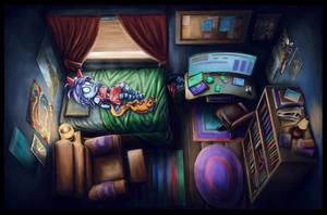 Zora's Bedroom by Benjamin-the-Fox