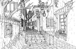 Italian Alley Inked by Benjamin-the-Fox