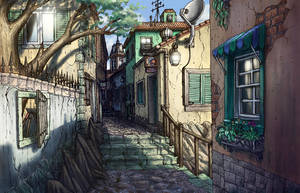 Italian Alley by Benjamin-the-Fox