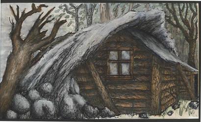 Benjamin's Cabin: color by Benjamin-the-Fox