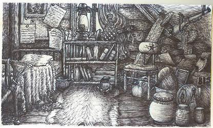 Benjamin's room: Ink by Benjamin-the-Fox