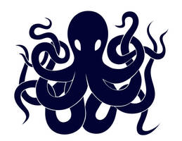 Octopus Logo by Benjamin-the-Fox