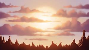 Animation BG design by Benjamin-the-Fox