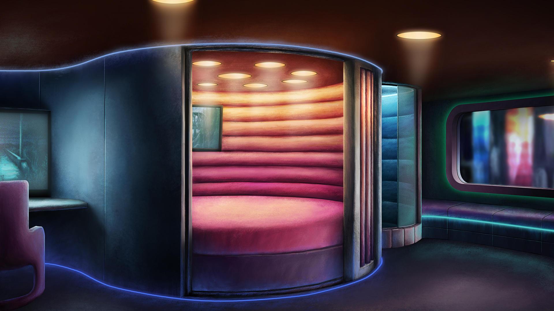 Neon Hotel by Benjamin-the-Fox