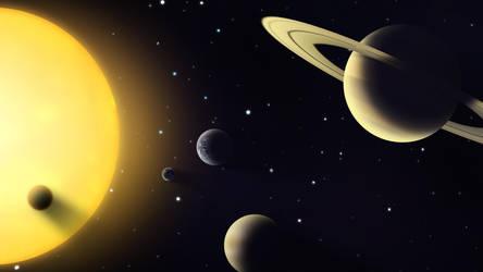 Solar System: Weirdos by Benjamin-the-Fox