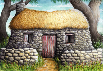 Cottage by Benjamin-the-Fox