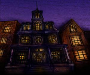 Dark House by Benjamin-the-Fox
