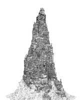 Shantytown Skyscraper Large by Benjamin-the-Fox