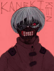 Kaneki by A-Lonely-Drawing