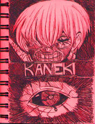KANEKI Sketch by A-Lonely-Drawing