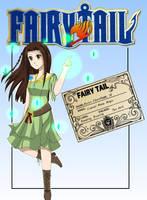 Fairy Tail OC: Marian Silvestri by artycomicfangirl