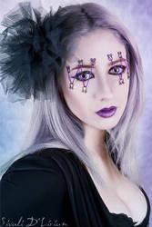 purple laces by Sivali-Delirium