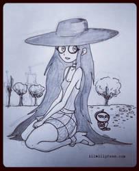 Random Pauline doodle  by jimathers