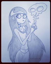 Random Pauline Doodle Thing. by jimathers