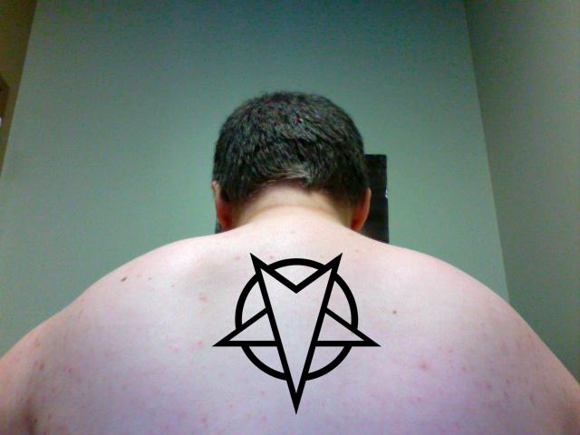 Pentagram Tattoo Sample By My God Issa Girl On Deviantart