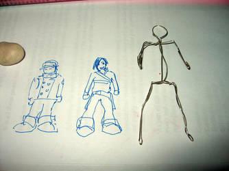 Fall Out boy Pete figurine 1 by Emmuska