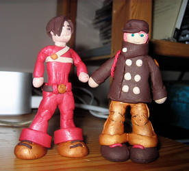 Fall Out Boy Patrick figurine by Emmuska