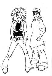 Tokio Hotel - made for fan art by Emmuska