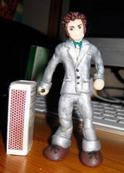 Dr. Who miniature figurine 2 by Emmuska