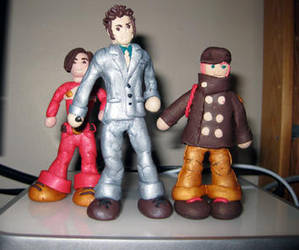 Dr. Who with Pete and Patrick by Emmuska
