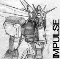 Impulse gundam by zenithexe