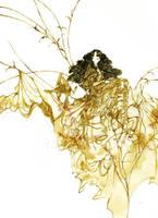 Fanaa in a golden dress by Katari-Katarina