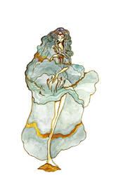 Teal and Lily by Katari-Katarina